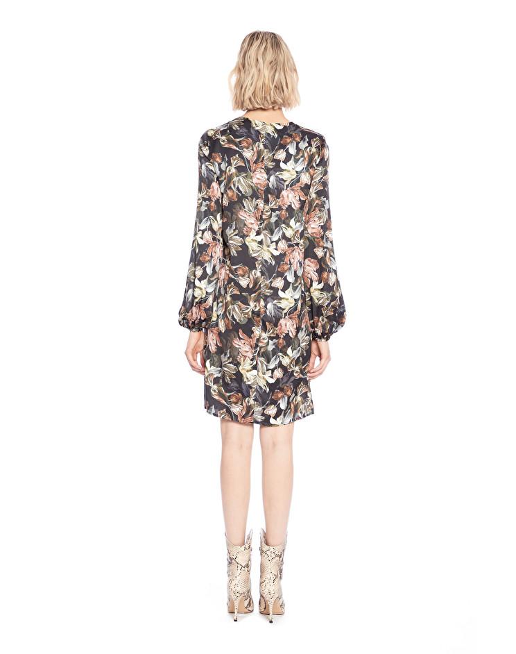Платье женское MANILA GRACE I9SA639VC.VERDE MILITARE фото
