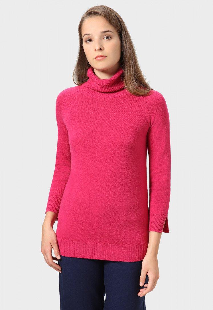 Свитер женский — Бордовый свитер женский elf sack 1439040