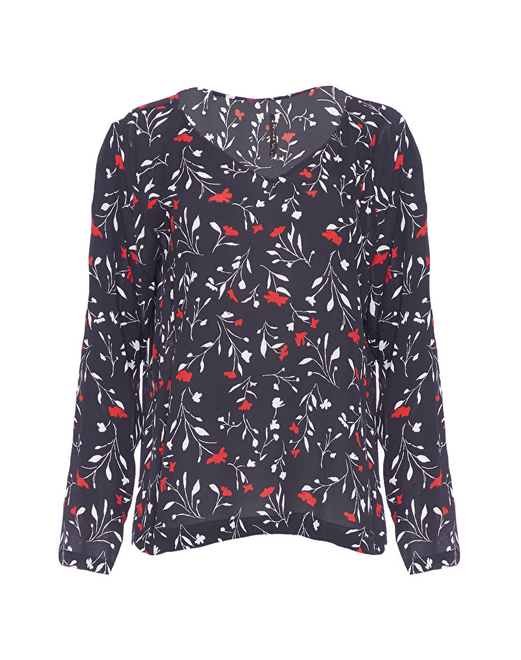 Блуза женская MANILA GRACE I9SC716VF.NERO фото