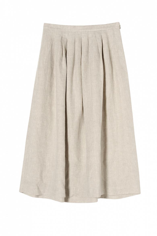 Женская льняная юбка STEFANEL JG026D69545.1200 фото