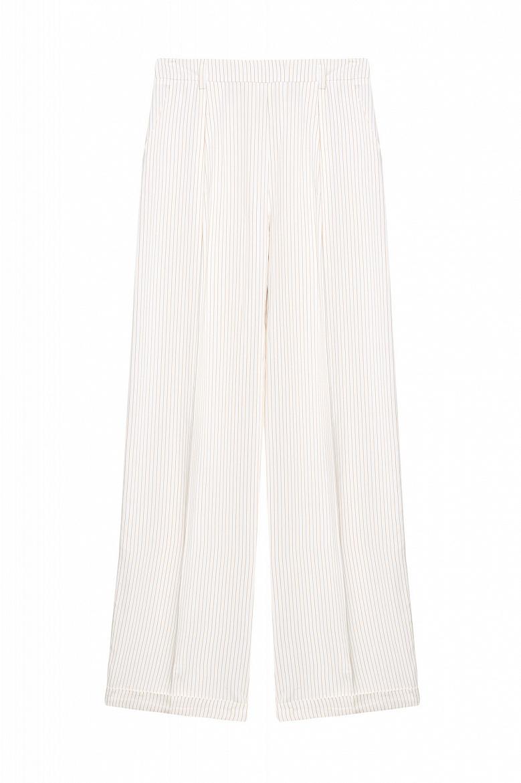 Женские брюки прямого кроя STEFANEL JP074D69574.2160 фото