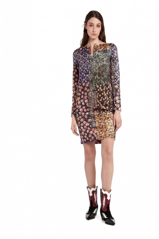 Платье женское MANILA GRACE I9JA187PS.BLACK FLOWER фото