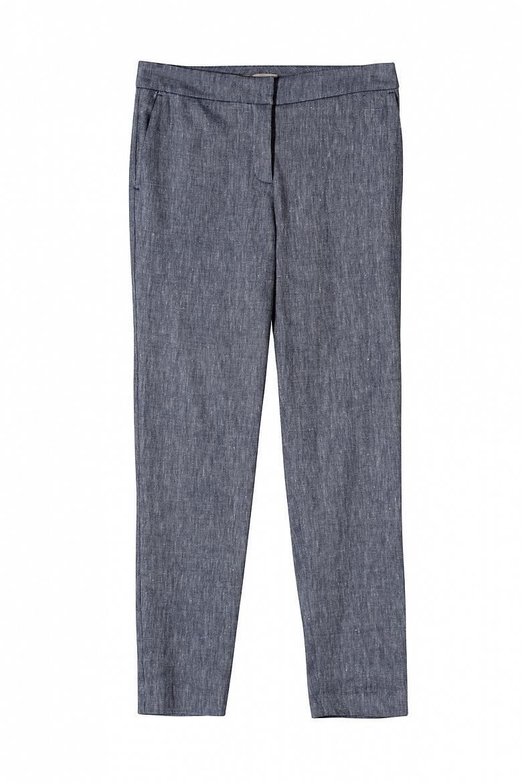 Женские укороченные брюки STEFANEL JP064D69583.2865 фото